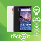 Nokia 7 Plus Ta-1041 (2018) Smartphone 64gb Black/white Unlocked Mobile Phone