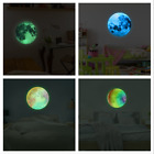 3d Wall Sticker Luminous Moon For Kids Room Home Decor Glow In The Dark Decals