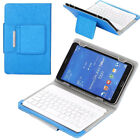 """For Huawei MediaPad T3 T5 M3 M5 7.0/10.1"""" Tablet Keyboard Case Folio Stand Cover"""