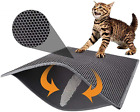 Cat Litter Mat Trapper -Traps Messes, Trapper Rug Suitable for Litter Tray