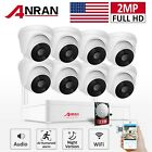 WIFI Home Security Camera System 8CH 1080P Wireless NVR CCTV Surveillance 2TB HD