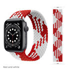 Braided Solo Loop For Apple watch band Nylon Elastic iWatch series 6 5 4 3 2 1 *