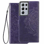 Magnetic Pattern Leather Wallet Case For Samsung S21 Ultra S20 FE 5G Note 20 S10