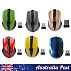 Wireless Mouse Cordless Optical Games Mice 2.4ghz Usb For Pc Laptop Computer