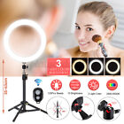 8/13'' LED Dimmable Ring Light 24'' Tripod Phone bluetooth Selfie Live w/