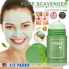 Cleansing Facial Mask Stick Clay Purifying Blackhead Acne Remover Green Tea