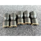 Parker 31061216 Pneumatic Push-In Fittings Qty 5