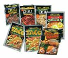 3 Williams Chili OR  Taco Seasonings OR Spicy Wings!