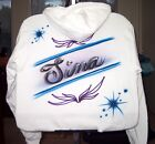 Airbrushed T-shirt NAME Design Personalized All Sizes