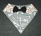 DOMINO / Pawprint Reversibl Quickerchief Bandana custom