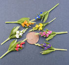 1:12 Scale Single Gladioli Dolls House Miniature Garden Flower Accessory