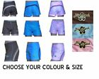 GIRLS TEEN AGE 10 12 14 16 LADIES UK 4 -12 SHORTS BLUE RUSH SURF & BOARD SHORTS