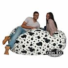 Large Bean Bag Chairs Factory Direct Cozy Sack Store 6 Cozy Foam Filled Comfort