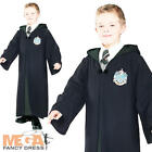 Slytherin Robe Harry Potter Boys Fancy Dress Halloween Villian Kids Book Costume