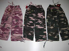 BNWT Girls Thick Fleecy Fully Lined Camouflage Bottoms/Trousers Ages 2 - 9/10