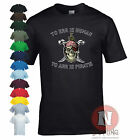 To err is human, To arr is Pirate funny fancy dress skull and crossbones t-shirt