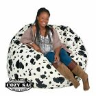 Large Bean Bag Chair Factory Direct Cozy Sack 4 Cozy Foam Filled Comfort