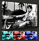 SCARFACE AL PACINO ICONIC FILM CANVAS PRINT MANY COLOURS & SIZES TO CHOOSE FROM
