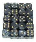20 of Pearl Six Sided Spot Dice, size 16mm - D6 RPG -  Game Dice - Wargaming