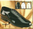 NEW Mens Jazz Tuxedo Dress Shoes Black, White, Ivory 8 - 16 Wide Width (W, E)