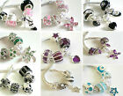 5 Mix of SPARKLE and DANGLE Charm Beads FOR Bracelets and Necklaces ~ 13 Designs