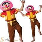 Boys Deluxe Animal The Muppets Fancy Dress Costume & Mask Ages 5 6 7 8