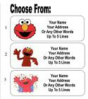 30 Elmo Personalized Address Labels