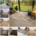 NEW Small Medium Extra Large Soft Thick Quality Rugs Chocolate Brown Mats CHEAP