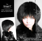 Fur WIG Knit shapka hat cap Brown/Black/Silver RANCHED Fox pelzmutze chapeau