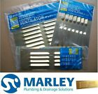 MARLEY Solid Polished Brass Louvered Vent Grill Interior Exterior 3x9 6x9 9x9