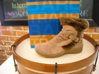 Bare Traps Extreme Taupe Suede Ruched Ankle Boots NEW