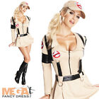 Sexy Ghostbuster Ladies Halloween Fancy Dress 1980s Ghostbusters Costume Outfit