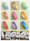 Novelty plaid polkadot flower fabric adhesive Tape Stick gift party decoration