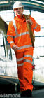 Arco RRP £32 Orange Hi-Vis Polycotton Reflective  Jacket Coat GO/RT 3279  M L XL