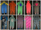 Primark Kids Girls Boys Fleece All In One Pyjamas Sleepsuit Pj's *bnwt* Onesie