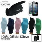 iGlove IDEAL FOR USE ON IPAD IPHONE TABLETS TOUCH SCREEN PHONES 6 COLOURS GLOVES