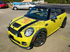 "Mini Cooper 6"" Dual Rally Racing Bonnet Boot Stripes Decal Sticker Vinyl Wrap"