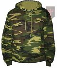 Woodland Camo DPM Hoodie All Sizes Military / Carp Fishing ( New