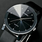 New Classic SINOBI Analog Fashion Leather Strap Wrist Quartz Watch