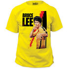 NEW Bruce Lee Yellow Jumpsuit Classic Action Movie Dragon Poster T-shirt top tee