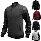 Free&Ship!!Men Long Sleeve Casual Hoodie Hooded Sweatshirt Jumpers Coat Side Zip