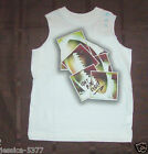 Boys The Childrens Place Tank Tops Yellow Epic Serf or White Football Size 4 NWT