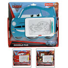 Disney Pixar Cars 2 Magnetic Doodle Pad With Lightning Mater Finn Frame Age 3+