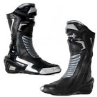 Blytz X-Race Leather Motorbike Motorcycle Boots Black Racing & Sport Boots