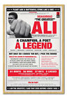 Framed Muhammad Ali A Legend Poster Ready To Hang - Choice Of Frame Colours