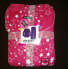 JOE BOXER WOMENS Plus FLANNEL PAJAMA SET ( Pink Stars  ) Size-1 X or 2X or 3X