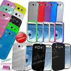 GRIP S-LINE WAVE SILICONE GEL CASE FOR SAMSUNG GALAXY S3 I9300 FREE SCREEN GUARD