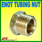 Enot Tubing Nut Metric Imperial Tube Brass Compression Nut Pipe Fitting Norgren