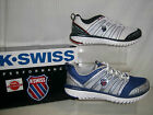 K-Swiss Performance men laceup trainer White/Black OR Silver/Blue BLADELIGHT RUN
