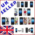 NEW STYLISH GRIP FLOWER SERIES CASE FITS APPLE IPHONE 5 FREE SCREEN PROTECTOR